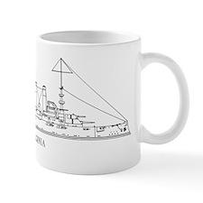 USS Virginia Small Mug