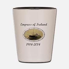 Empress of Ireland commemoration Shot Glass