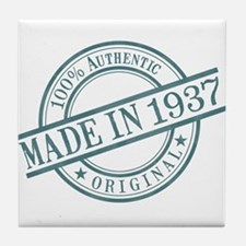 Made in 1937 Tile Coaster