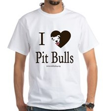I Heart Pit Bulls T-Shirt