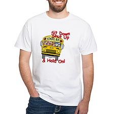 American Worker School Bus Driver T-Shirt