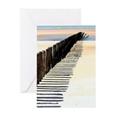 Beach Scene Watercolor Greeting Cards