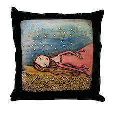 Cute Princess Throw Pillow