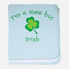 I'm a wee bit Irish. baby blanket