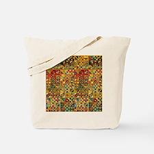 Colorful Tribal Aztec  Geometric  Seamles Tote Bag