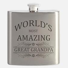 World's Most Amazing Great Grandpa Flask