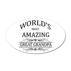 World's Most Amazing Great G Wall Decal