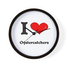 I love oystercatchers  Wall Clock