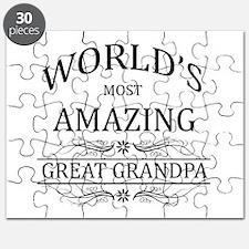 World's Most Amazing Great Grandpa Puzzle