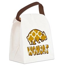 WOMBAT Tshirt or Gift Canvas Lunch Bag