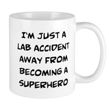 lab accident Small Mugs
