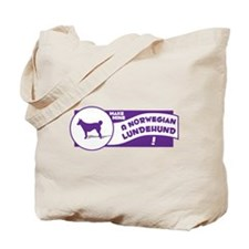 Make Mine Lundehund Tote Bag