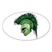 Green Spartan Decal