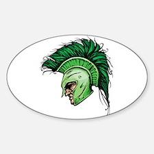 Green Spartan Decal