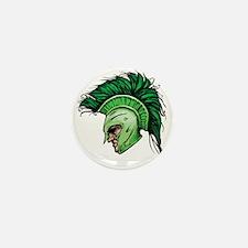 Green Spartan Mini Button