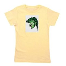 Green Spartan Girl's Tee