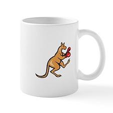 Kangaroo Kick Boxer Boxing Cartoon Mugs