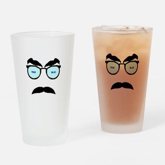 True Blue Drinking Glass