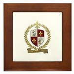 GUIMONT Family Crest Framed Tile