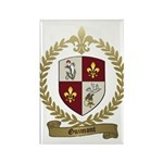 GUIMONT Family Crest Rectangle Magnet (10 pack)