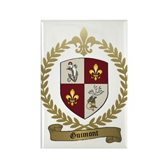 GUIMONT Family Crest Rectangle Magnet (10 pack)