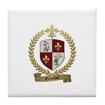 GUIMONT Family Crest Tile Coaster
