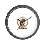 GUIMONT Family Crest Wall Clock