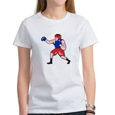 Amateur Boxer Boxing Cartoon T-Shirt