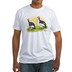 Pied Guineas Fitted T-Shirt