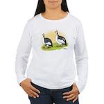 Pied Guineas Women's Long Sleeve T-Shirt