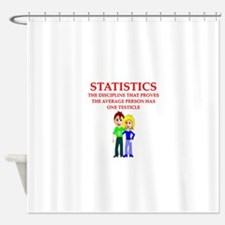 STATS3 Shower Curtain