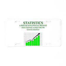 STATS Aluminum License Plate