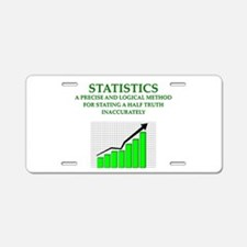 STATS Aluminum License Plate