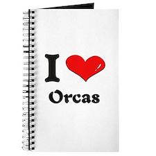 I love orcas Journal