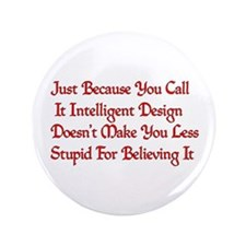 "Not So Smart Design 3.5"" Button (100 pack)"