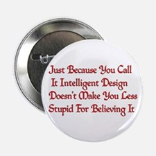 "Not So Smart Design 2.25"" Button"