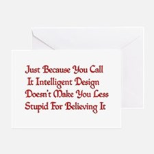 Not So Smart Design Greeting Card