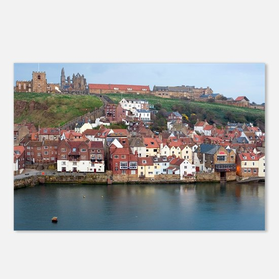 Whitby landmarks Postcards (Package of 8)