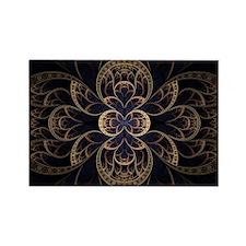 Abstract Fractal Art Rectangle Magnet