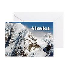 Alaska Range mountains, Alaska, USA  Greeting Card