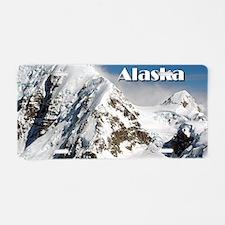 Alaska Range mountains, Ala Aluminum License Plate
