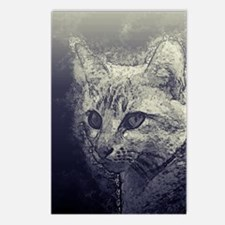 myothergoodside cat Postcards (Package of 8)