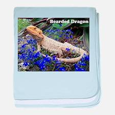 bearded dragon merch.jpg baby blanket