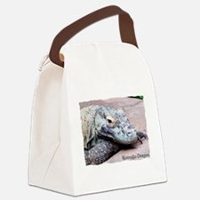 Komodo Dragon.JPG Canvas Lunch Bag