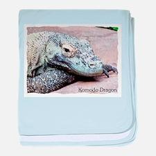 Komodo Dragon.JPG baby blanket