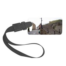 199 Church Steps in Whitby Luggage Tag