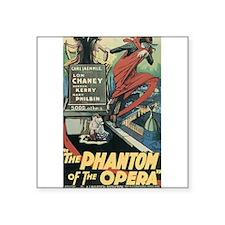 """Unique The phantom of the opera Square Sticker 3"""" x 3"""""""