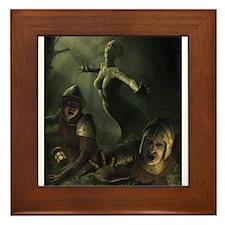 serpent_demon_by_igor (6000 x 8000) Framed Tile