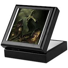 serpent_demon_by_igor (6000 x 8000) Keepsake Box