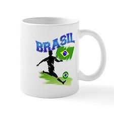 Soccer BRASIL Flag Mug